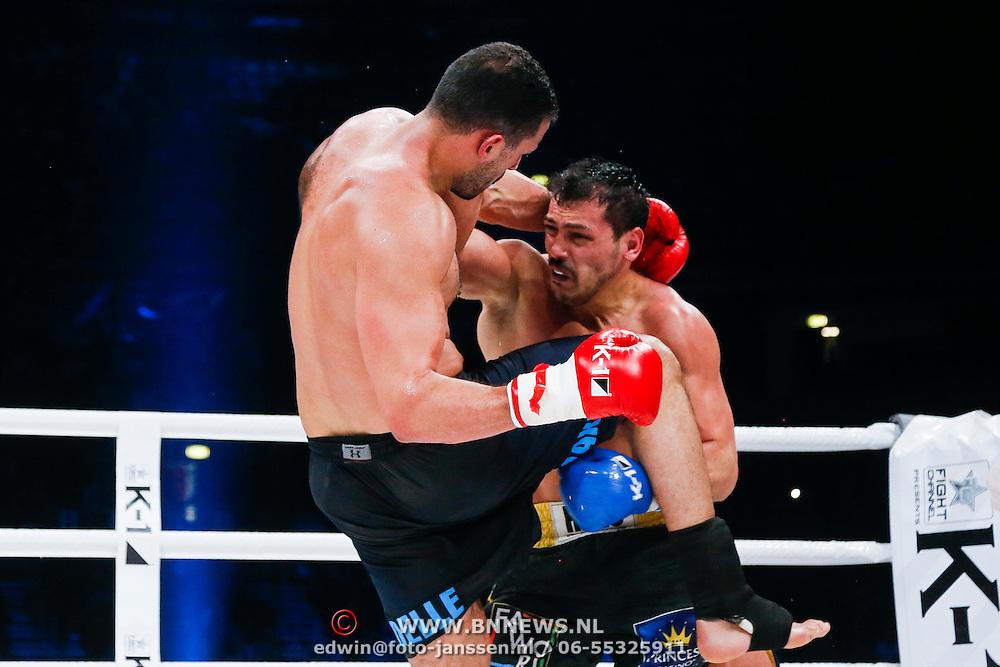 CRO/Zagreb/20130315- K1 WGP Final Zagreb, Badr Hari vs Zabit Samedov