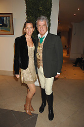 COLETTE VAN DEN THILLART and NICKY HASLAM at a party to celebrate the 60th anniversary of House & Garden magazine held at Bonhams, 101 New Bond Street, London on 4th October 2007.<br /><br />NON EXCLUSIVE - WORLD RIGHTS