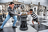 Giant Chess at Trafalgar Square