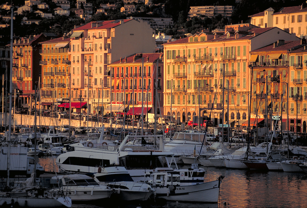 Harbor in Cannes, France