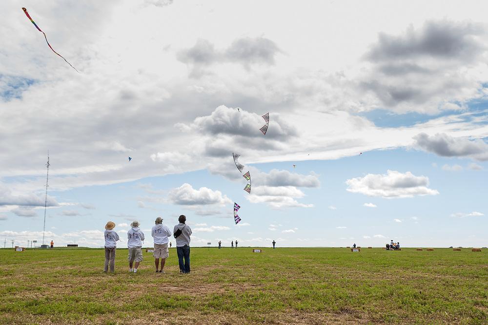 The Rev Riders. Windscape Kite Festival, Swift Current, Saskatchewan.