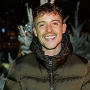 NLD/Amsterdam/20181016 - Presentatie in de Sneeu, Lil Kleine in de sneeuw