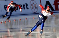 12-01-2007 SCHAATSEN: EUROPESE KAMPIOENSCHAPPEN: COLLALBO ITALIE <br /> Yekaterina Abramova RUS<br /> ©2007-WWW.FOTOHOOGENDOORN.NL