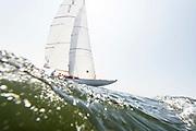 Ruweida sailing in the Herreshoff Classic Yacht Regatta.