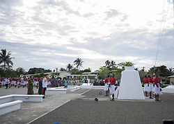 AU_1379109 - SUVA, FIJI  - The Duke lays a wreath at the Fiji War Memorial, and meet a number of Fijian war veterans, some of whom served with the British Armed Forces. Links between the British Military and Fiji continue to this day with more than 1250 Fijians currently serving in the British Army.<br /> <br /> Pictured: Prince Harry<br /> <br /> BACKGRID Australia 24 OCTOBER 2018 <br /> <br /> Phone: + 61 2 8719 0598<br /> Email:  photos@backgrid.com.au