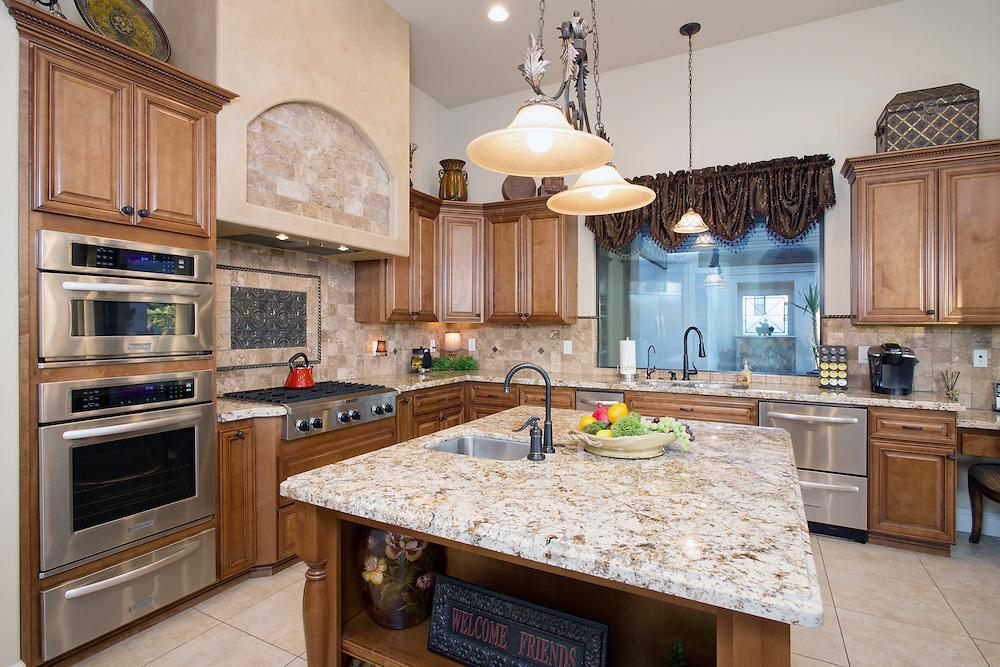 Luxury Kitchen Real Estate Photography in Mesa, Arizona