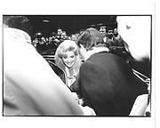 Ivana Trump arriving 'Ivana' birthday lunch La Grenoille 1990© Copyright Photograph by Dafydd Jones 66 Stockwell Park Rd. London SW9 0DA Tel 020 7733 0108 www.dafjones.com