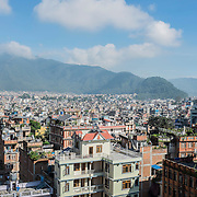 View of the city of Kathmandu, Nepal