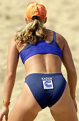 20-08-2000 NED: NK BEACH 2000 SCHEVENINGEN<br /> Rebekka Kadijk