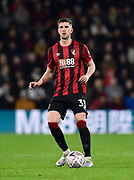 Chris Mepham (33) of AFC Bournemouth during the The FA Cup match between Bournemouth and Luton Town at the Vitality Stadium, Bournemouth, England on 4 January 2020.