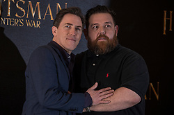 """Rob Brydon and Nick Frost attends a photocall for """"The Huntsman Winter's War"""" at Claridge's Hotel in London. EXPA Pictures © 2016, PhotoCredit: EXPA/ Photoshot/ Euan Cherry<br /> <br /> *****ATTENTION - for AUT, SLO, CRO, SRB, BIH, MAZ, SUI only*****"""