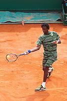 Gael Monfils - 17.04.2015 - Tournoi de Monte Carlo 2015 - Masters 1000 <br />Photo : Serge Haouzi / Icon Sport