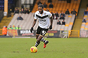 Port Vale midfielder Anthony Grant  during the Sky Bet League 1 match between Port Vale and Coventry City at Vale Park, Burslem, England on 7 February 2016. Photo by Simon Davies.