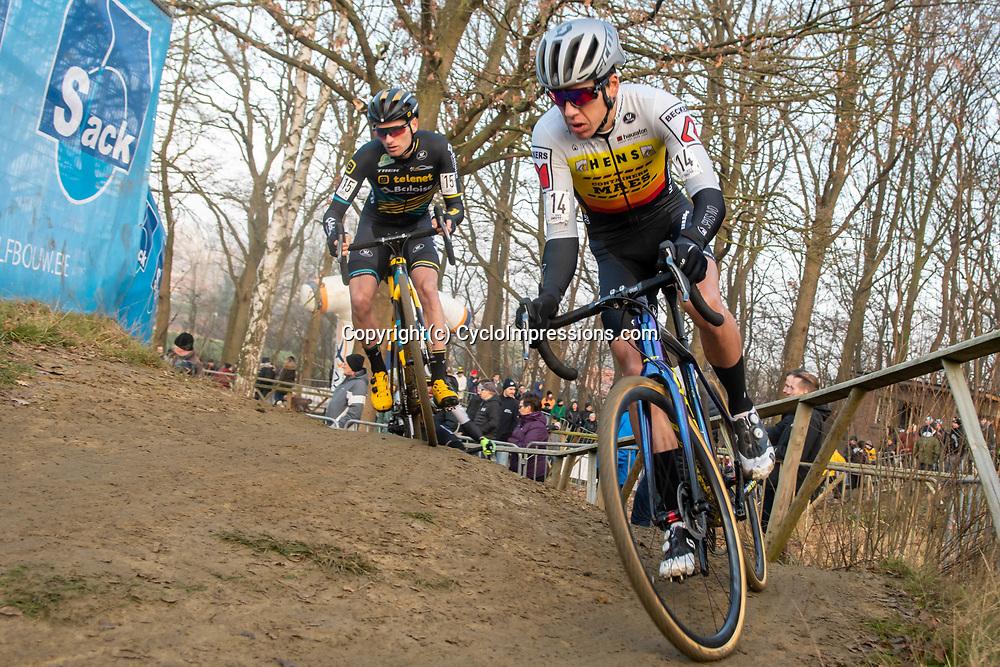 2020-01-01 Cycling: dvv verzekeringen trofee: Baal: Tom Meussen in the outfit of his new team