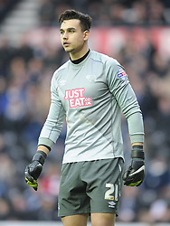 Kelie Roos Goalkeeper Derby County, Derby County v Reading, FA Cup 5th Round, The Ipro Stadium, Saturday 14th Febuary 2015