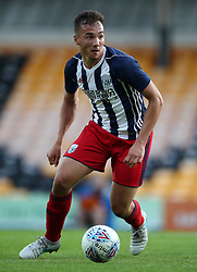 """West Bromwich Albion's Kane Wilson during the pre-season friendly match at Vale Park, Stoke. PRESS ASSOCIATION Photo. Picture date: Tuesday August 1, 2017. See PA story SOCCER Port Vale. Photo credit should read: Nick Potts/PA Wire. RESTRICTIONS: EDITORIAL USE ONLY No use with unauthorised audio, video, data, fixture lists, club/league logos or """"live"""" services. Online in-match use limited to 75 images, no video emulation. No use in betting, games or single club/league/player publications."""