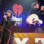 WASHINGTON, DC - December 15th, 2014 - Charley Bagnall and Jake Roche of Rixton perform  onstage during HOT 99.5's Jingle Ball 2014 at the Verizon Center in Washington, D.C. (Photo By Kyle Gustafson / For The Washington Post)