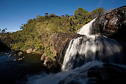 Horton Plains National Park, Sri Lanka.  The Park consists of montane cloud forests embedded in wet montane grasslands. Horton Plains National Park is in the highlands of the country belonging to central province.