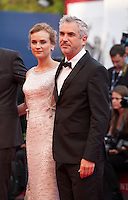 Diane Kruger and  Alfonso Cuaron at the gala screening for the film Everest and opening ceremony at the 72nd Venice Film Festival, Wednesday September 2nd 2015, Venice Lido, Italy.