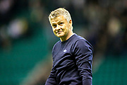 Molde manager Ole Gunnar Solskjaer following the Europa League match between Hibernian and Molde FK at Easter Road, Edinburgh, Scotland on 9 August 2018.
