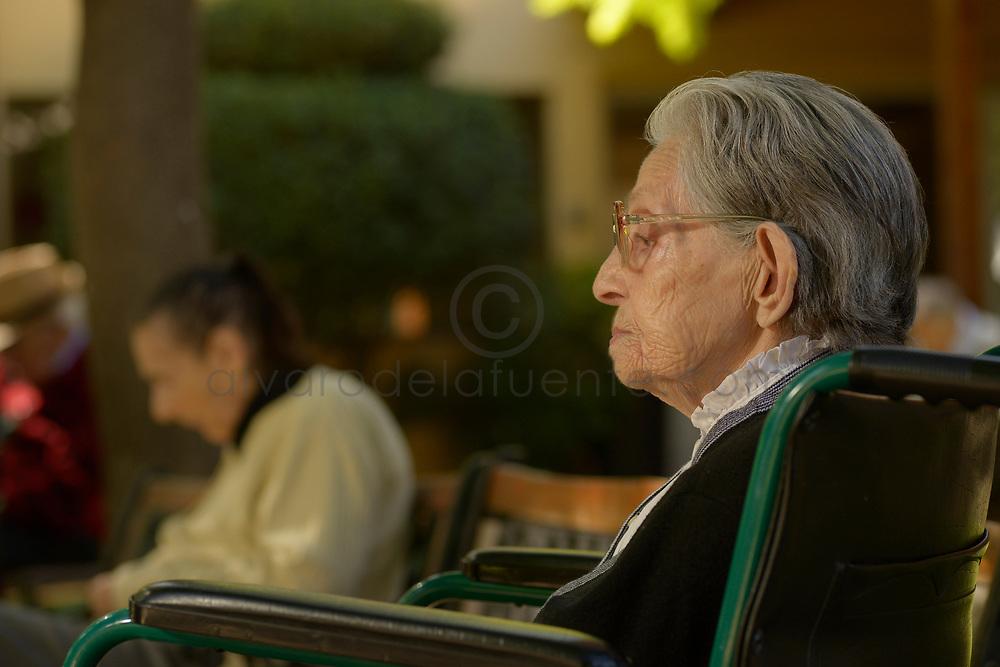 Fundación Las Rosas, Hogar Nuestra Señora de la Paz. Ñuñoa, Santiago de Chile, 12-03-2018 (©Alvaro de la Fuente)