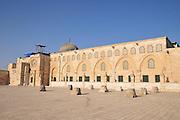 Israel, Jerusalem, Haram esh Sharif (Temple Mount) Al-Aqsa Mosque