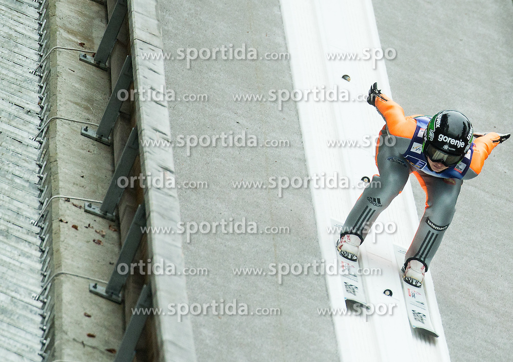 LOGAR Eva (SLO)  during 2nd Round at Day 2 of World Cup Ski Jumping Ladies Ljubno 2017, on February 12, 2016 in Ljubno ob Savinji, Slovenia. Photo by Vid Ponikvar / Sportida