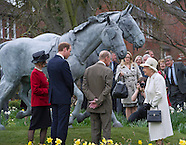 Queen, Princes Philip & William Greys Unveiling