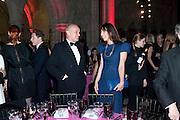 NICHOLAS COLERIDGE; SAMANTHA CAMERON, British Fashion awards 2009. Supported by Swarovski. Celebrating 25 Years of British Fashion. Royal Courts of Justice. London. 9 December 2009