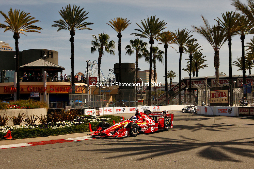 15-17 April, 2016, Long Beach, California USA<br /> 9 Scott Dixon<br /> &copy;2016, Phillip Abbott<br /> LAT Photo USA