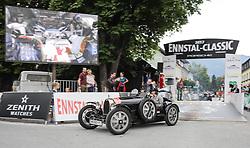 20.07.2017, Gröbming, AUT, Ennstal-Classic 2017, Start Prolog, im Bild Andrea Daum-Hübner und Astrid Stüger-Hübner, AT, Bugatti 37A Bj. 1928 // during the Ennstal-Classic 2017 in Gröbming, Austria on 2017/07/20. EXPA Pictures © 2017, PhotoCredit: EXPA / Martin Huber