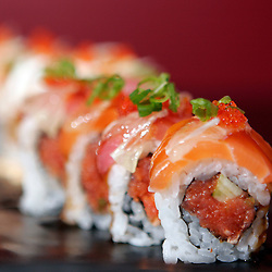 Unagi handroll from Fresh Wasabi.  Photo by N.Scott Trimble/Arizona Republic
