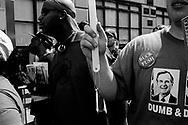 Demonstrators during the RNC, New York City, 2004