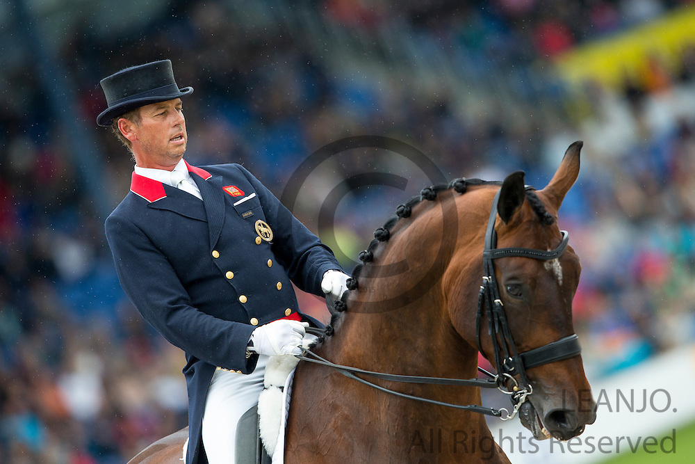 Carl Hester - Nip Tuck<br /> FEI European Championships Aachen 2015<br /> &copy; DigiShots