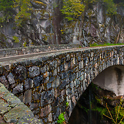 Bridge over Christine Falls - Mt. Rainier National Park, WA