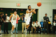 during the men's basketball game between the Dartmouth Big Green and the Vermont Catamounts at Patrick Gym on Wednesday December 7, 2016 in Burlington (BRIAN JENKINS/for the FREE PRESS)