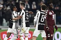 esultanza gol Douglas Costa Juventus Goal celebration with Miralem Pjanic <br /> Torino 03-01-2018 Allianz Stadium Calcio Coppa Italia Quarti di Finale Juventus - Torino foto Image Sport/Insidefoto