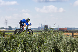 AFFINI Edoardo from ITALY during Men Elite Time Trial at 2019 UEC European Road Championships, Alkmaar, The Netherlands, 8 August 2019. <br /> <br /> Photo by Thomas van Bracht / PelotonPhotos.com <br /> <br /> All photos usage must carry mandatory copyright credit (Peloton Photos | Thomas van Bracht)