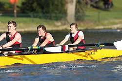 2012.02.25 Reading University Head 2012. The River Thames. Division 2. Bristol University Boat Club B IM2 8+