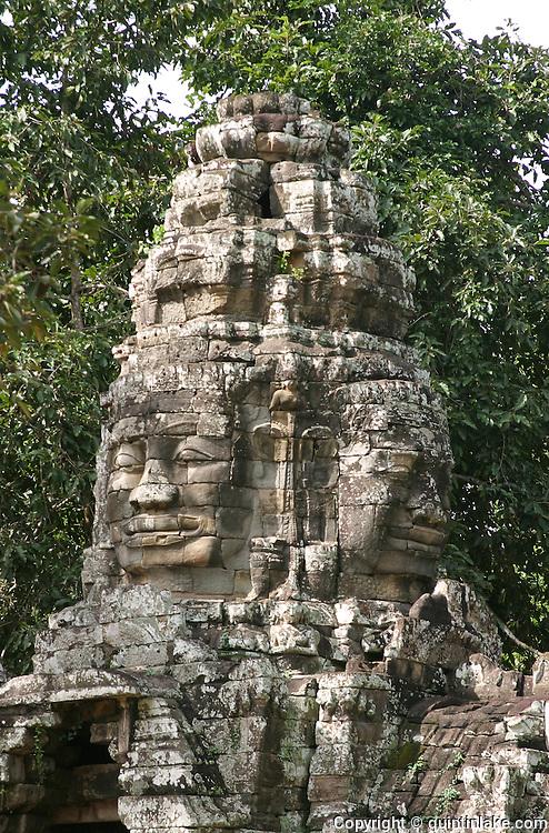 Gates, Angkor, Cambodia