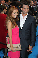 Una Healy; Ben Foden Pirates Of The Caribbean: On Stranger Tides - UK Premiere, Westfield Shopping Centre, London, UK, 12 May 2011:  Contact: Rich@Piqtured.com +44(0)7941 079620 (Picture by Richard Goldschmidt)