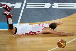 Bojan Bogdanovic #7 of Croatia during basketball match between national team of Croatia and Italy of Eurobasket 2013 on September 14, 2013 in SRC Stozice, Ljubljana, Slovenia. (Photo By Matic Klansek Velej / Sportida.com)