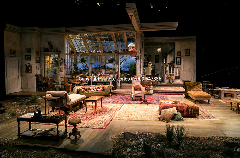 The Chalk Garden by Enid Bagnold;<br /> Directed by Alan Strachan;<br /> The Set;<br /> Chichester Festival Theatre, Chichester;<br /> 30 May 2018;<br /> © Pete Jones<br /> pete@pjproductions.co.uk