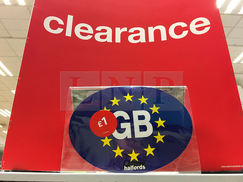 Eu bumper sticker clearance london news pictures