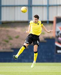 Livingston Declan Gallagher. <br /> Raith Rovers 3 v 0 Livingston, SPFL Ladbrokes Premiership game played 8/8/2015 at Stark's Park.