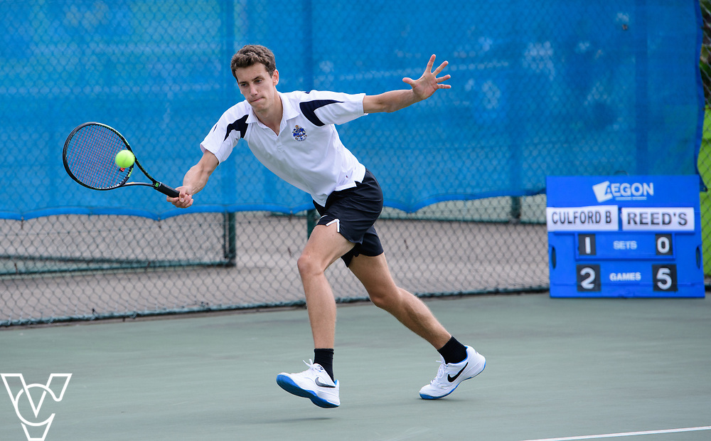 Team Tennis Schools National Championships Finals 2017 held at Nottingham Tennis Centre.  Culford School B<br /> <br /> Picture: Chris Vaughan Photography for the LTA<br /> Date: July 12, 2017