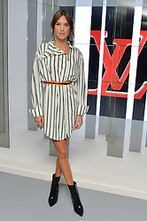 ALEXA CHUNG at the Louis Vuitton Series 3 VIP Launch held at 180 Strand, London on 20th September 2015.