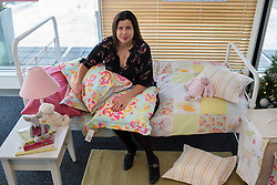 © licensed to London News Pictures. London, UK 26/11/2012. Designer Kirstie Allsopp launching her children's bed linen collection 'Little Living' at Peter Jones store in Sloane Square. Photo credit: Tolga Akmen/LNP