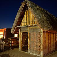 Palafitta del Fabbro.<br /> Contiene le ricostruzioni degli attrezzi utilizzati 4000 anni fa per fondere il ferro.
