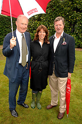 Left to right, PRINCE ERIC SUDZA, FLORENCE PAUL and the EARL OF BALFOUR at the Cartier Style Et Luxe at the Goodwood Festival of Speed, Goodwood House, West Sussex on 24th June 2007.<br />